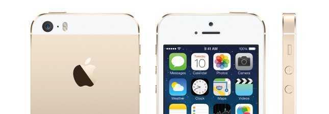 Gold iPhones