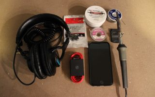 Sony MDR-7506 iPhone Mod 1