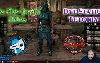 Elder Scrolls Online Dye Station